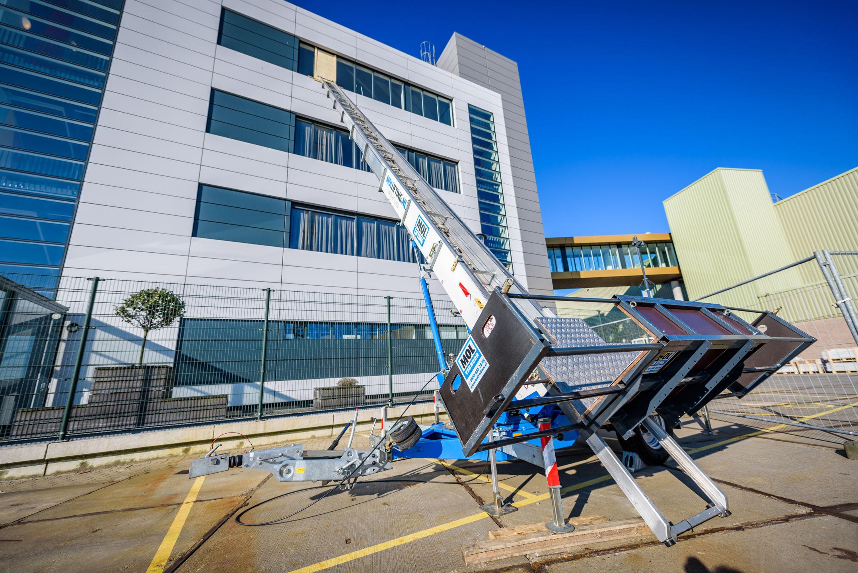 Verbouwing van kantoor etage 4 bestaande bouw